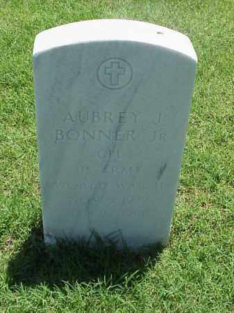 BONNER, JR (VETERAN WWII), AUBREY J - Pulaski County, Arkansas | AUBREY J BONNER, JR (VETERAN WWII) - Arkansas Gravestone Photos