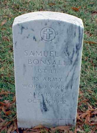 BONSALL (VETERAN WWII), SAMUEL W - Pulaski County, Arkansas | SAMUEL W BONSALL (VETERAN WWII) - Arkansas Gravestone Photos