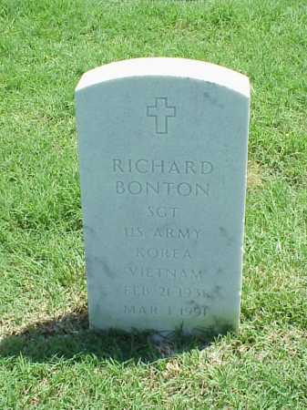BONTON (VETERAN 2 WARS), RICHARD - Pulaski County, Arkansas | RICHARD BONTON (VETERAN 2 WARS) - Arkansas Gravestone Photos