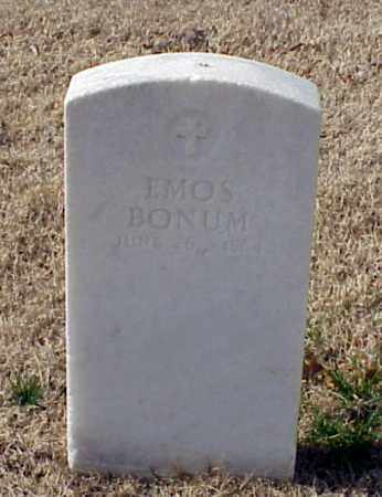 BONUM (VETERAN UNION), EMOS - Pulaski County, Arkansas | EMOS BONUM (VETERAN UNION) - Arkansas Gravestone Photos