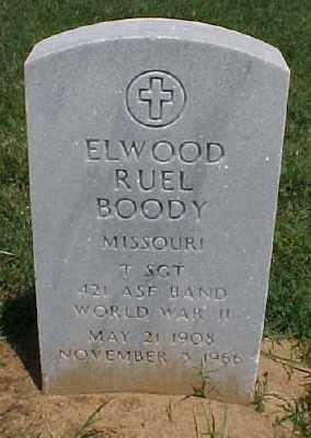 BOODY (VETERAN WWII), ELWOOD RUEL - Pulaski County, Arkansas | ELWOOD RUEL BOODY (VETERAN WWII) - Arkansas Gravestone Photos