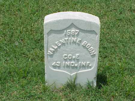 BOON (VETERAN UNION), VALENTINE - Pulaski County, Arkansas | VALENTINE BOON (VETERAN UNION) - Arkansas Gravestone Photos