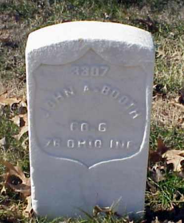 BOOTH (VETERAN UNION), JOHN A - Pulaski County, Arkansas | JOHN A BOOTH (VETERAN UNION) - Arkansas Gravestone Photos