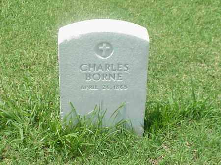 BORNE (VETERAN UNION), CHARLES - Pulaski County, Arkansas | CHARLES BORNE (VETERAN UNION) - Arkansas Gravestone Photos