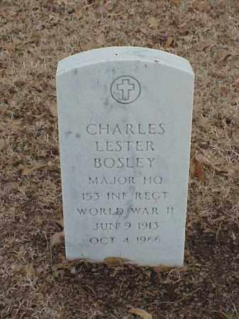 BOSLEY (VETERAN WWII), CHARLES LESTER - Pulaski County, Arkansas | CHARLES LESTER BOSLEY (VETERAN WWII) - Arkansas Gravestone Photos