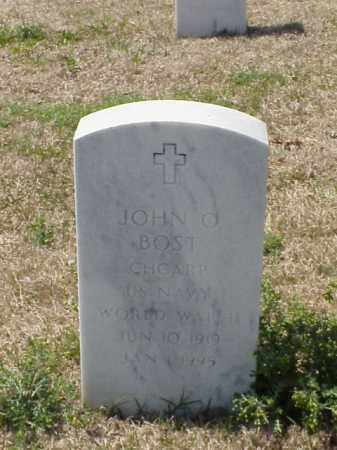BOST (VETERAN WWII), JOHN O - Pulaski County, Arkansas | JOHN O BOST (VETERAN WWII) - Arkansas Gravestone Photos