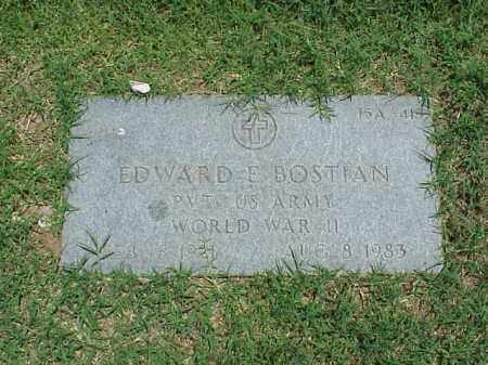 BOSTIAN (VETERAN WWII), EDWARD E - Pulaski County, Arkansas | EDWARD E BOSTIAN (VETERAN WWII) - Arkansas Gravestone Photos