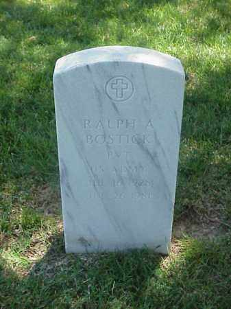 BOSTICK (VETERAN WWII), RALPH A - Pulaski County, Arkansas | RALPH A BOSTICK (VETERAN WWII) - Arkansas Gravestone Photos