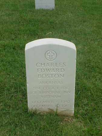 BOSTON (VETERAN VIET), CHARLES EDWARD - Pulaski County, Arkansas | CHARLES EDWARD BOSTON (VETERAN VIET) - Arkansas Gravestone Photos