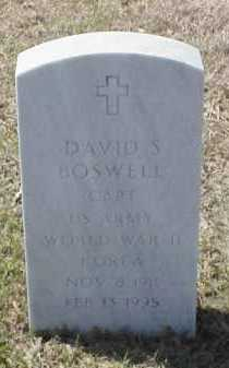 BOSWELL (VETERAN 2 WARS), DAVID S - Pulaski County, Arkansas | DAVID S BOSWELL (VETERAN 2 WARS) - Arkansas Gravestone Photos