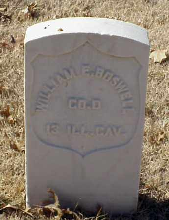 BOSWELL (VETERAN UNION), WILLIAM E - Pulaski County, Arkansas | WILLIAM E BOSWELL (VETERAN UNION) - Arkansas Gravestone Photos
