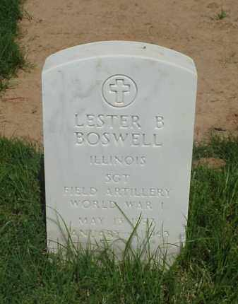 BOSWELL (VETERAN WWI), LESTER B - Pulaski County, Arkansas | LESTER B BOSWELL (VETERAN WWI) - Arkansas Gravestone Photos