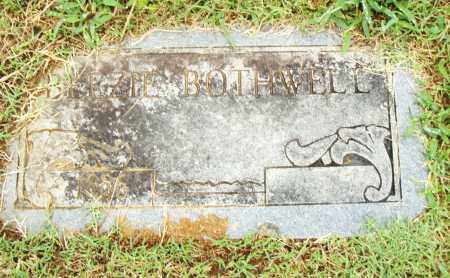 BOTHWELL, BEEZIE - Pulaski County, Arkansas | BEEZIE BOTHWELL - Arkansas Gravestone Photos