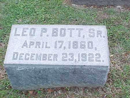 BOTT, SR, LEO P - Pulaski County, Arkansas | LEO P BOTT, SR - Arkansas Gravestone Photos
