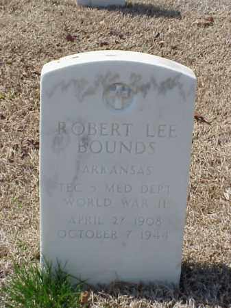 BOUNDS (VETERAN WWII), ROBERT LEE - Pulaski County, Arkansas | ROBERT LEE BOUNDS (VETERAN WWII) - Arkansas Gravestone Photos