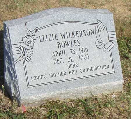BOWELS, LIZZIE - Pulaski County, Arkansas | LIZZIE BOWELS - Arkansas Gravestone Photos