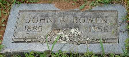 BOWEN, JOHN W. - Pulaski County, Arkansas | JOHN W. BOWEN - Arkansas Gravestone Photos