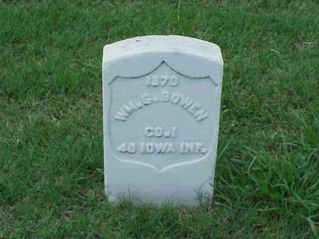 BOWEN (VETERAN UNION), WILLIAM G - Pulaski County, Arkansas | WILLIAM G BOWEN (VETERAN UNION) - Arkansas Gravestone Photos