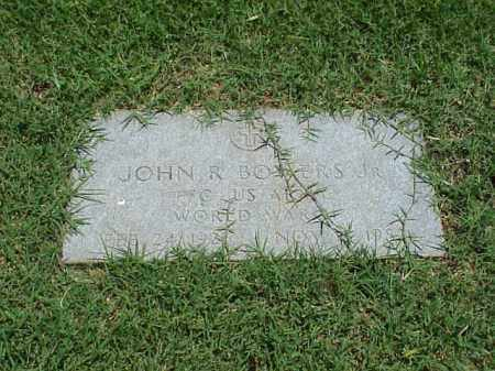 BOWERS, JR (VETERAN WWII), JOHN R - Pulaski County, Arkansas | JOHN R BOWERS, JR (VETERAN WWII) - Arkansas Gravestone Photos
