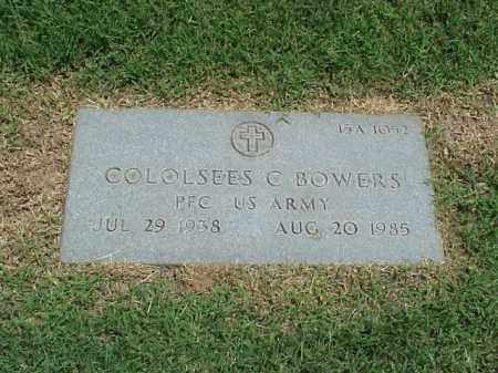 BOWERS (VETERAN), COLOLSEES C - Pulaski County, Arkansas | COLOLSEES C BOWERS (VETERAN) - Arkansas Gravestone Photos