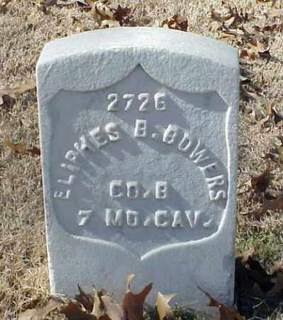 BOWERS (VETERAN UNION), ELIPHES B - Pulaski County, Arkansas | ELIPHES B BOWERS (VETERAN UNION) - Arkansas Gravestone Photos