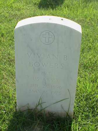 BOWERS (VETERAN WWI), VIVIAN B - Pulaski County, Arkansas | VIVIAN B BOWERS (VETERAN WWI) - Arkansas Gravestone Photos