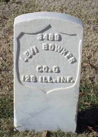 BOWKER (UNION), LEVI - Pulaski County, Arkansas | LEVI BOWKER (UNION) - Arkansas Gravestone Photos
