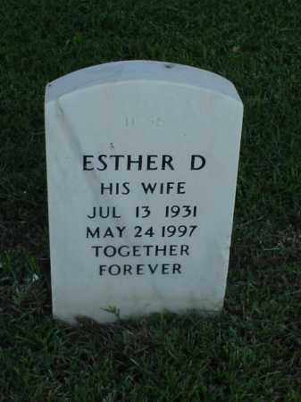 BOWLBY, ESTHER D - Pulaski County, Arkansas | ESTHER D BOWLBY - Arkansas Gravestone Photos