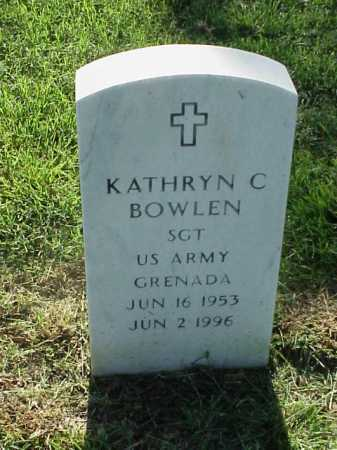 BOWLEN (VETERAN 2 WARS), KATHRYN C - Pulaski County, Arkansas | KATHRYN C BOWLEN (VETERAN 2 WARS) - Arkansas Gravestone Photos