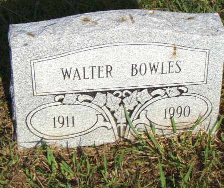 BOWLES, WALTER - Pulaski County, Arkansas | WALTER BOWLES - Arkansas Gravestone Photos
