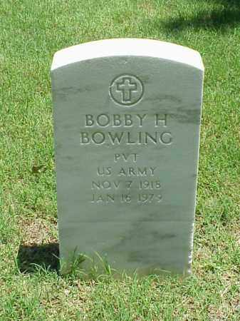 BOWLING (VETERAN), BOBBY H - Pulaski County, Arkansas | BOBBY H BOWLING (VETERAN) - Arkansas Gravestone Photos