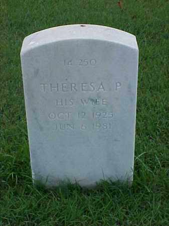 BOWMAN, THERESA P - Pulaski County, Arkansas | THERESA P BOWMAN - Arkansas Gravestone Photos