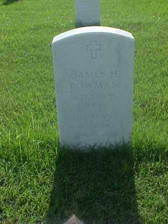 BOWMAN (VETERAN WWI), JAMES H - Pulaski County, Arkansas | JAMES H BOWMAN (VETERAN WWI) - Arkansas Gravestone Photos