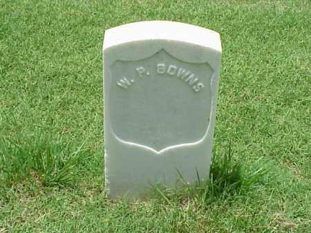 BOWNS (VETERAN UNION), W P - Pulaski County, Arkansas | W P BOWNS (VETERAN UNION) - Arkansas Gravestone Photos