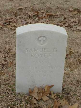 BOYCE (VETERAN WWI), SAMUEL G - Pulaski County, Arkansas | SAMUEL G BOYCE (VETERAN WWI) - Arkansas Gravestone Photos