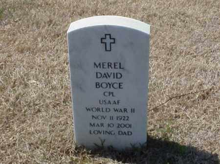 BOYCE (VETERAN WWII), MEREL DAVID - Pulaski County, Arkansas | MEREL DAVID BOYCE (VETERAN WWII) - Arkansas Gravestone Photos