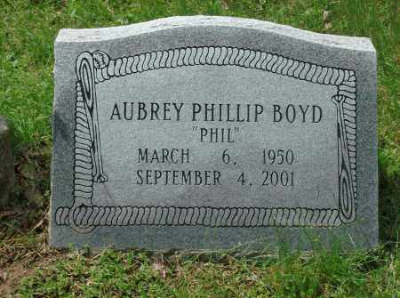 BOYD, AUBREY PHILLIP - Pulaski County, Arkansas | AUBREY PHILLIP BOYD - Arkansas Gravestone Photos
