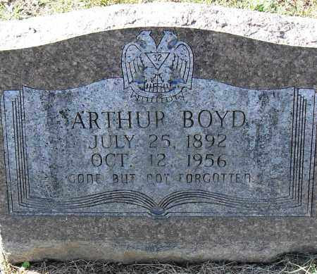 BOYD, ARTHUR - Pulaski County, Arkansas | ARTHUR BOYD - Arkansas Gravestone Photos