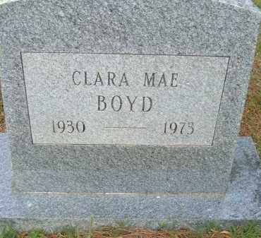 BOYD, CLARA MAE - Pulaski County, Arkansas | CLARA MAE BOYD - Arkansas Gravestone Photos