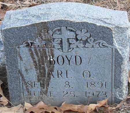 BOYD, EARL O - Pulaski County, Arkansas | EARL O BOYD - Arkansas Gravestone Photos