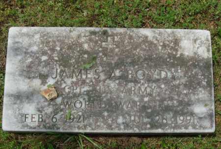 BOYD (VETERAN WWII), JAMES A - Pulaski County, Arkansas | JAMES A BOYD (VETERAN WWII) - Arkansas Gravestone Photos