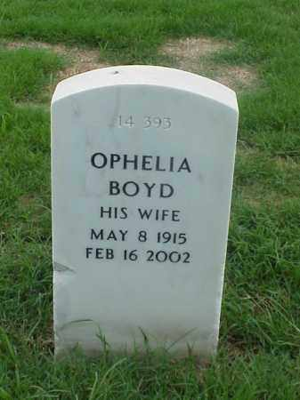 BOYD, OPHELIA - Pulaski County, Arkansas | OPHELIA BOYD - Arkansas Gravestone Photos