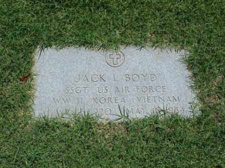 BOYD (VETERAN 3 WARS), JACK L - Pulaski County, Arkansas | JACK L BOYD (VETERAN 3 WARS) - Arkansas Gravestone Photos