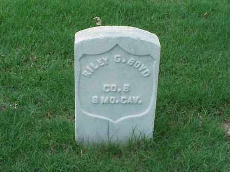 BOYD (VETERAN UNION), RILEY G - Pulaski County, Arkansas | RILEY G BOYD (VETERAN UNION) - Arkansas Gravestone Photos