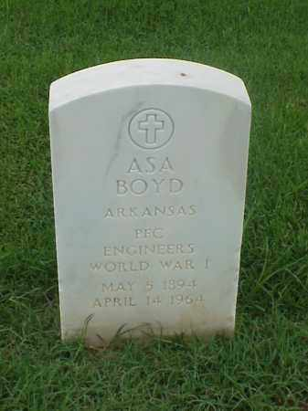 BOYD (VETERAN WWI), ASA - Pulaski County, Arkansas | ASA BOYD (VETERAN WWI) - Arkansas Gravestone Photos