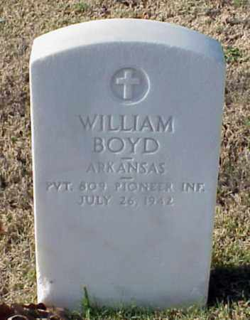 BOYD (VETERAN WWI), WILLIAM - Pulaski County, Arkansas | WILLIAM BOYD (VETERAN WWI) - Arkansas Gravestone Photos