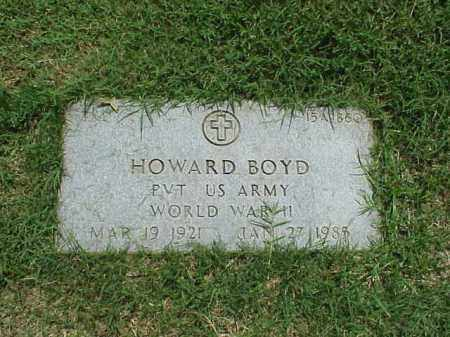 BOYD (VETERAN WWII), HOWARD - Pulaski County, Arkansas | HOWARD BOYD (VETERAN WWII) - Arkansas Gravestone Photos