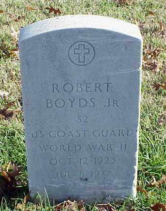 BOYDS, JR (VETERAN WWII), ROBERT - Pulaski County, Arkansas | ROBERT BOYDS, JR (VETERAN WWII) - Arkansas Gravestone Photos