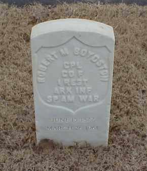 BOYDSTON  (VETERAN SAW), ROBERT M - Pulaski County, Arkansas | ROBERT M BOYDSTON  (VETERAN SAW) - Arkansas Gravestone Photos