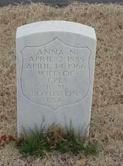 BOYDSTON, ANNA N - Pulaski County, Arkansas | ANNA N BOYDSTON - Arkansas Gravestone Photos